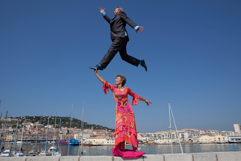 Martin Bez et Christina; Photo de Li Wei Sète 2012